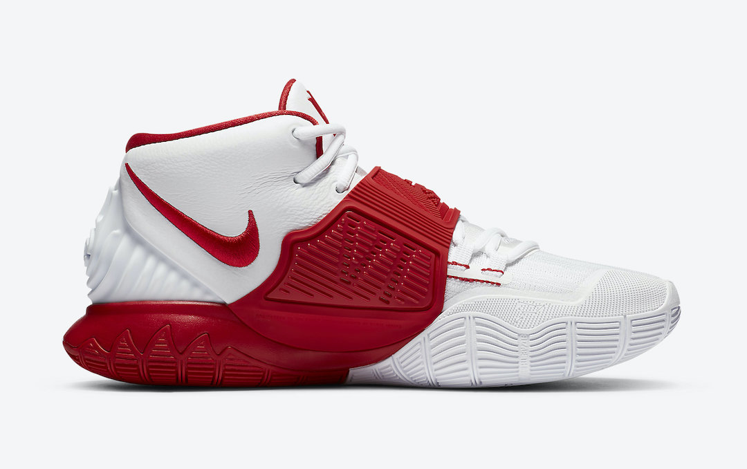 Nike Kyrie 6 White University Red CZ4938-100 Release Date