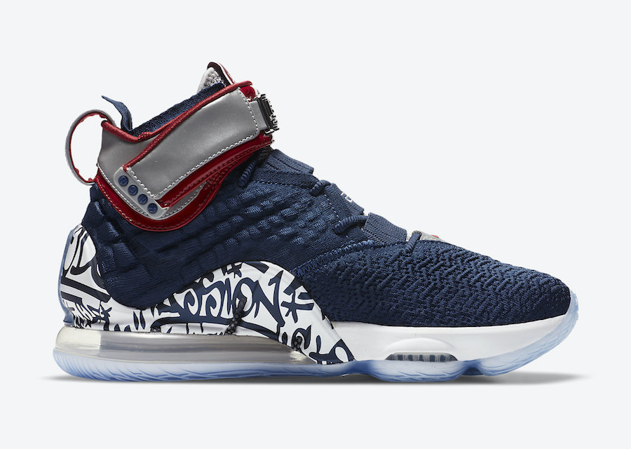 Nike LeBron 17 Graffiti Remix All-Star CT6047-400 Release Date