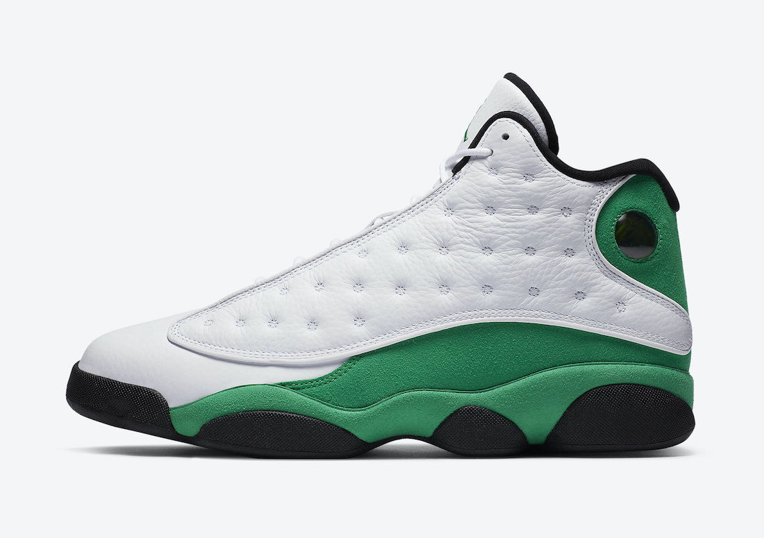 Air Jordan 13 Lucky Green DB6537-113 Release Date Price