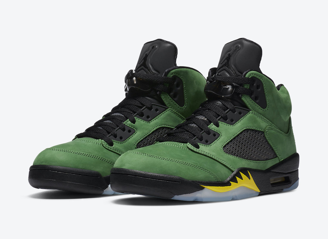 Air Jordan 5 Oregon Elevate CK6631-307 Release Date Price