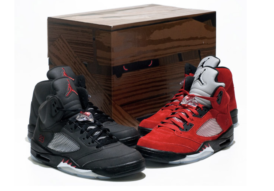 Air Jordan 5 Raging Bulls Toro Bravo Pack