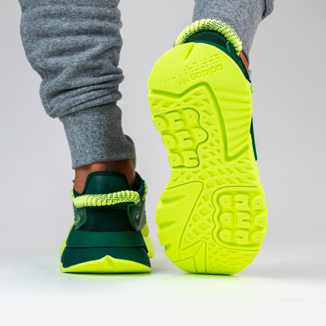 Beyonce Ivy Park adidas Nite Jogger Signal Green S29041 Release Date