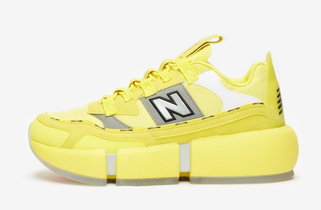 Jaden Smith New Balance Vision Racer Yellow Release Date