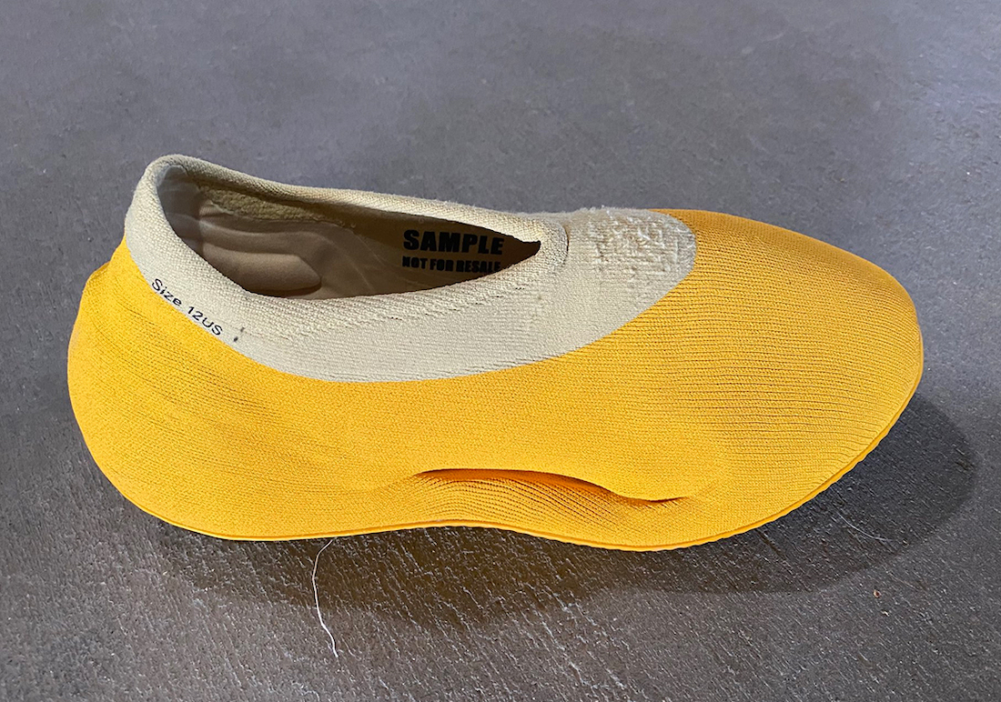 Kanye West Yeezy Dipped Yellow