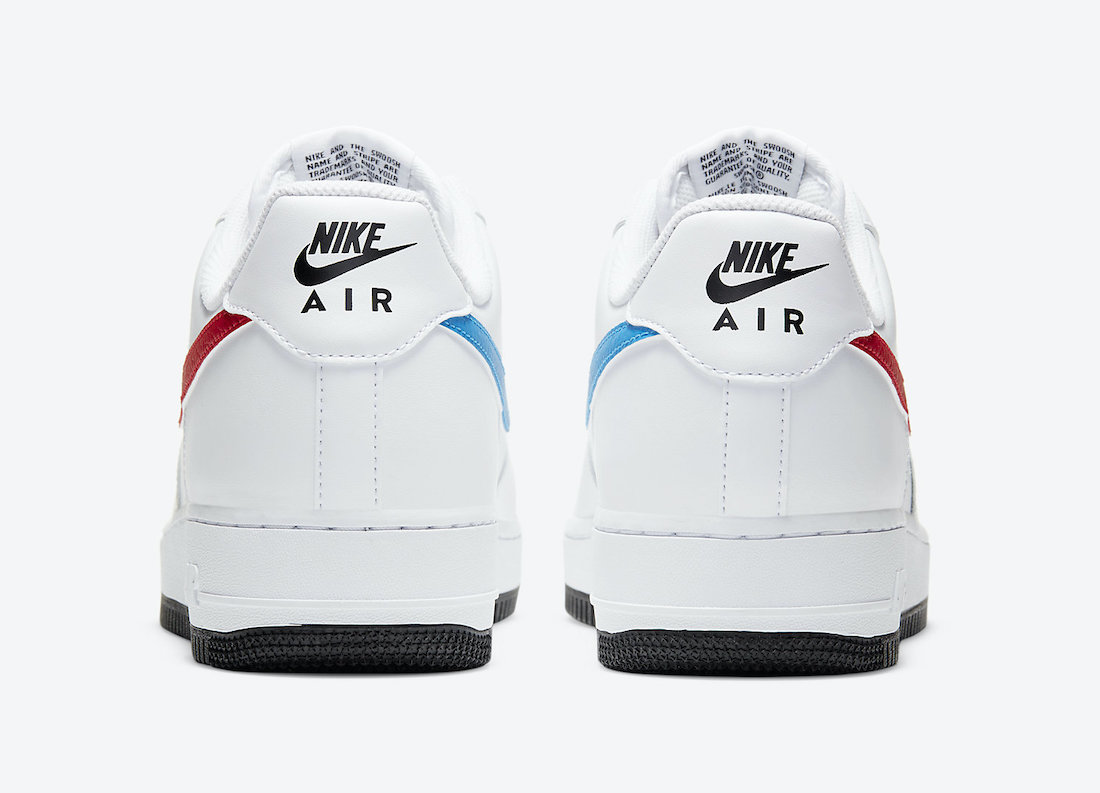 Nike Air Force 1 Low University Red Photo Blue CT2816-100 Release Date