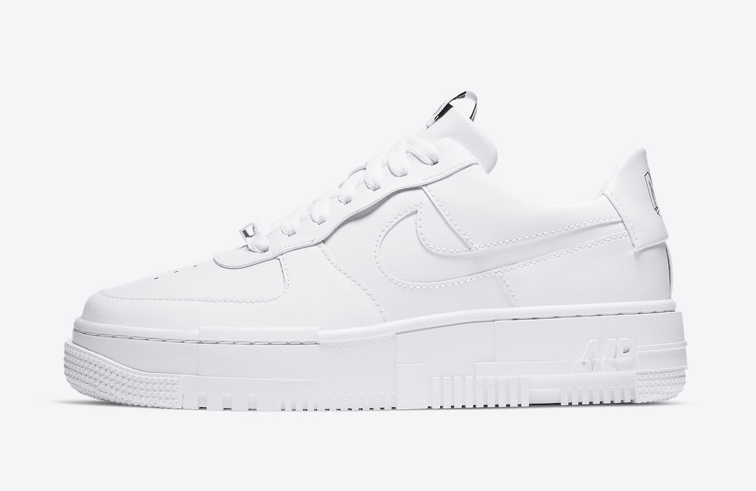 Nike Air Force 1 Pixel White CK6649-100 Release Date