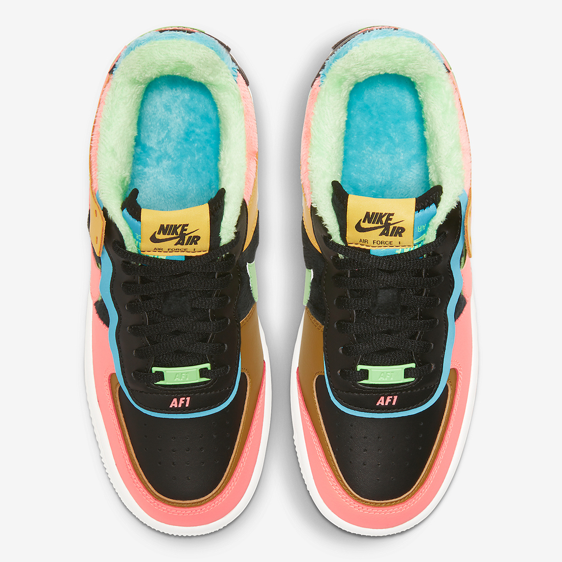 Nike Air Force 1 Shadow SE Solar Flare Atomic Pink CT1985-700 Release Date
