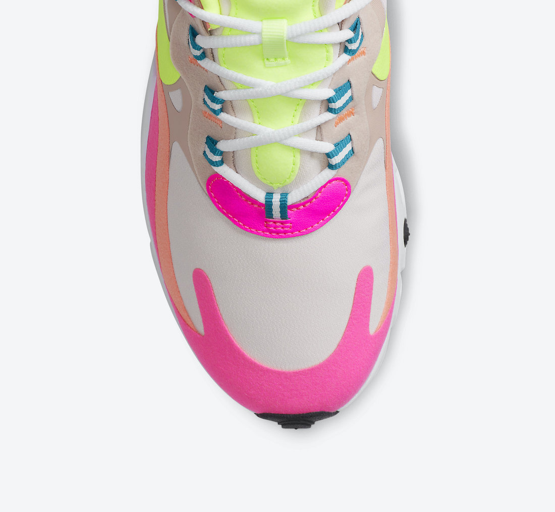 Nike Air Max 270 React DC1863-600 Release Date