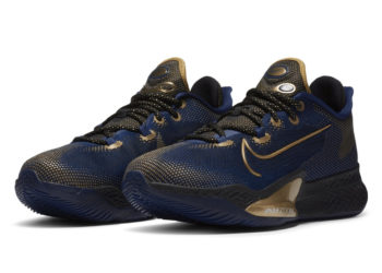 Nike Air Zoom BB NXT Navy Gold Release Date