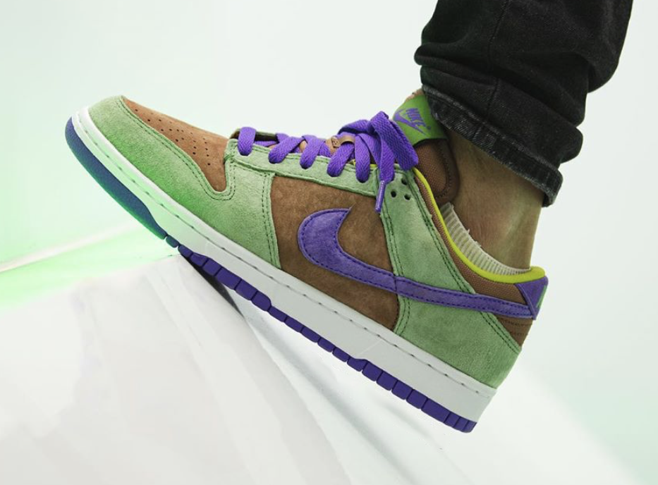 Nike Dunk Low Veneer DA1469-200 2020 Release Date On-Feet