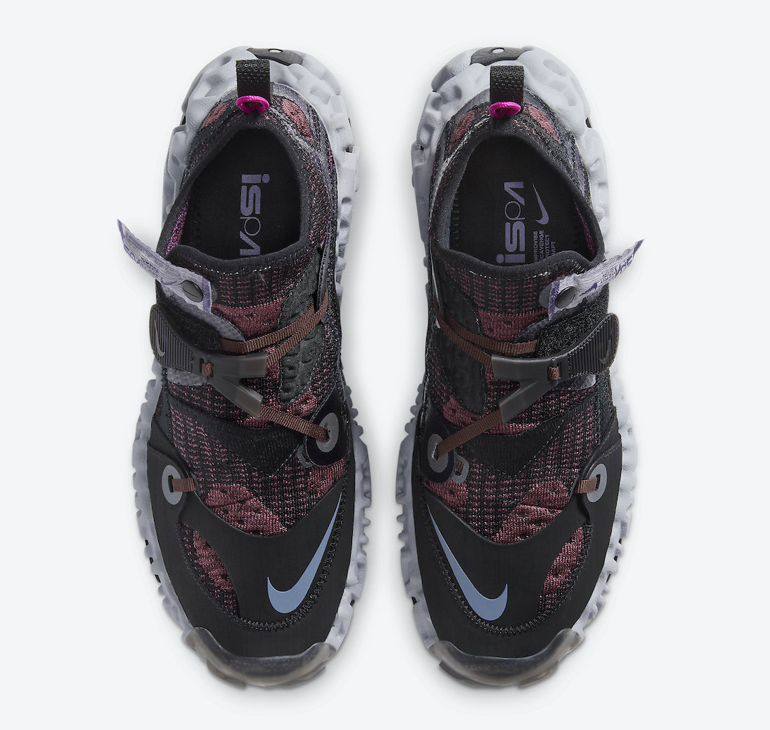Nike ISPA OverReact Flyknit Shadowberry CD9664-002 Release Date