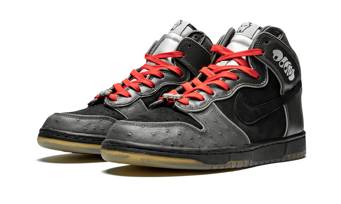 Nike SB Dunk High Premium MF Doom 313171-004 2007 Release Date