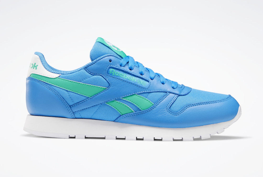 Reebok Classic Leather Horizon Blue Court Green FX2277 Release Date