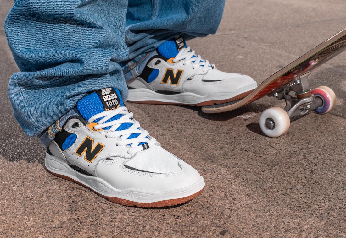New Balance Releasing First Signature Model for Professional Skateboarder Tiago Lemos