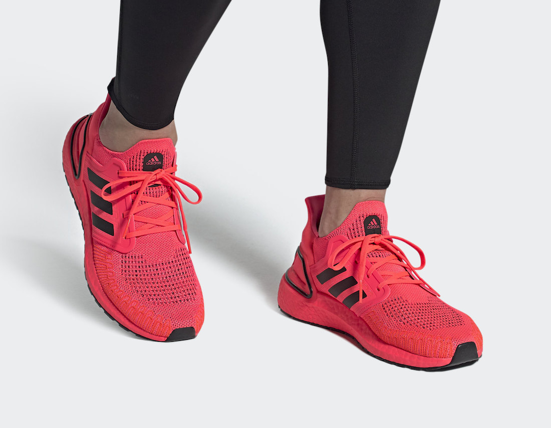 adidas Ultra Boost 2020 Signal Pink FW8728 Release Date