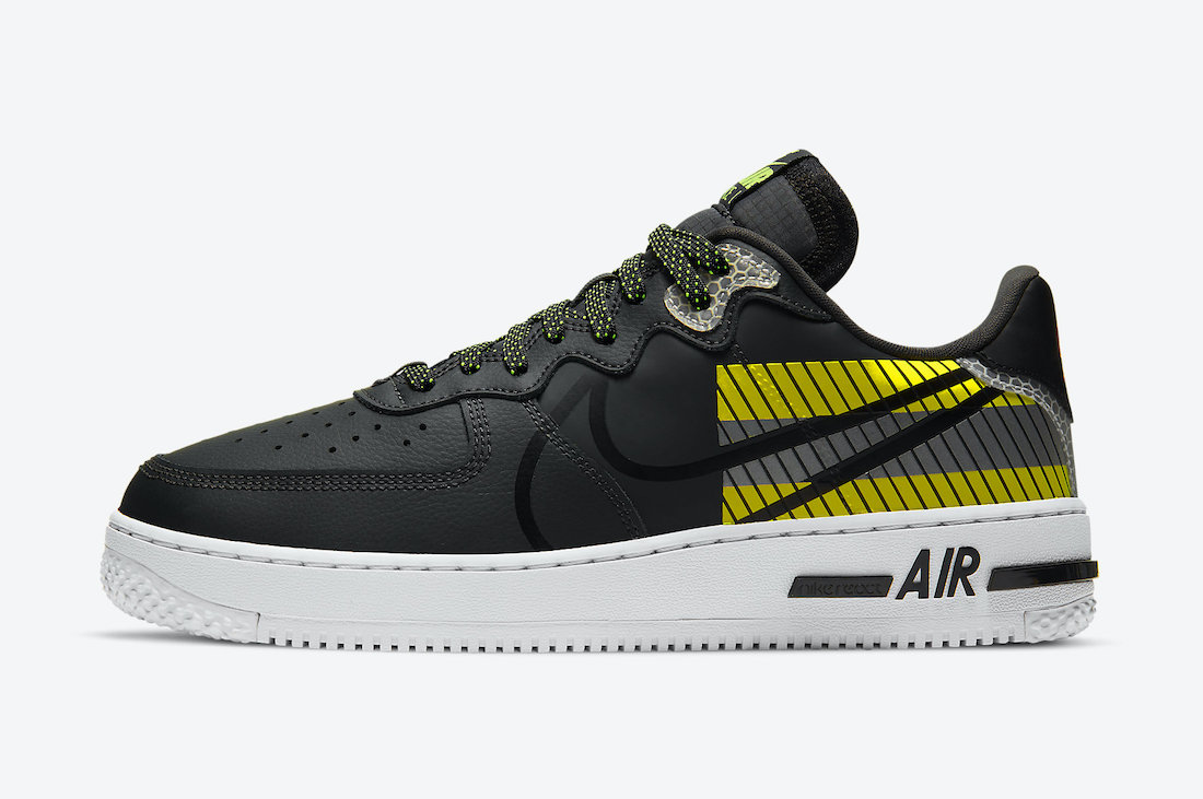 3M Nike Air Force 1 React DMSX CT3316-003 Release Date