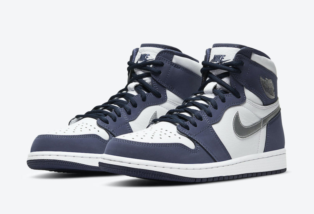 Air Jordan 1 Japan Midnight Navy Metallic Silver DC1788-100 ...