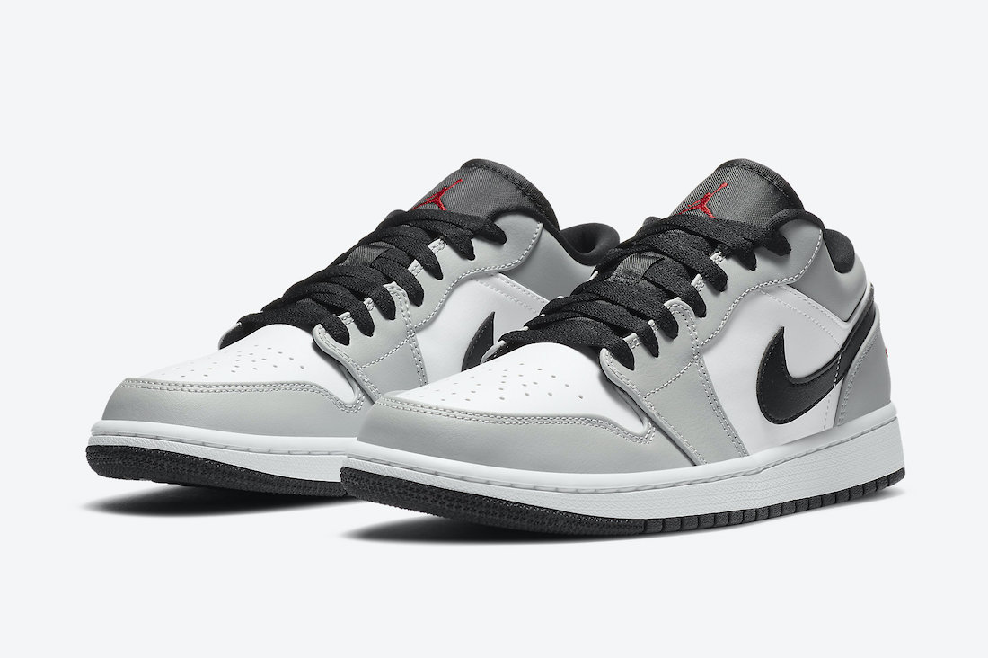 Air Jordan 1 Low Light Smoke Grey 553558-030 Release Date
