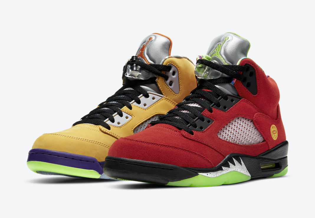 Air Jordan 5 What The CZ5725-700 Release Date Price