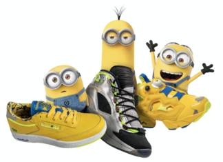 Minions Reebok Rise of Gru Collection