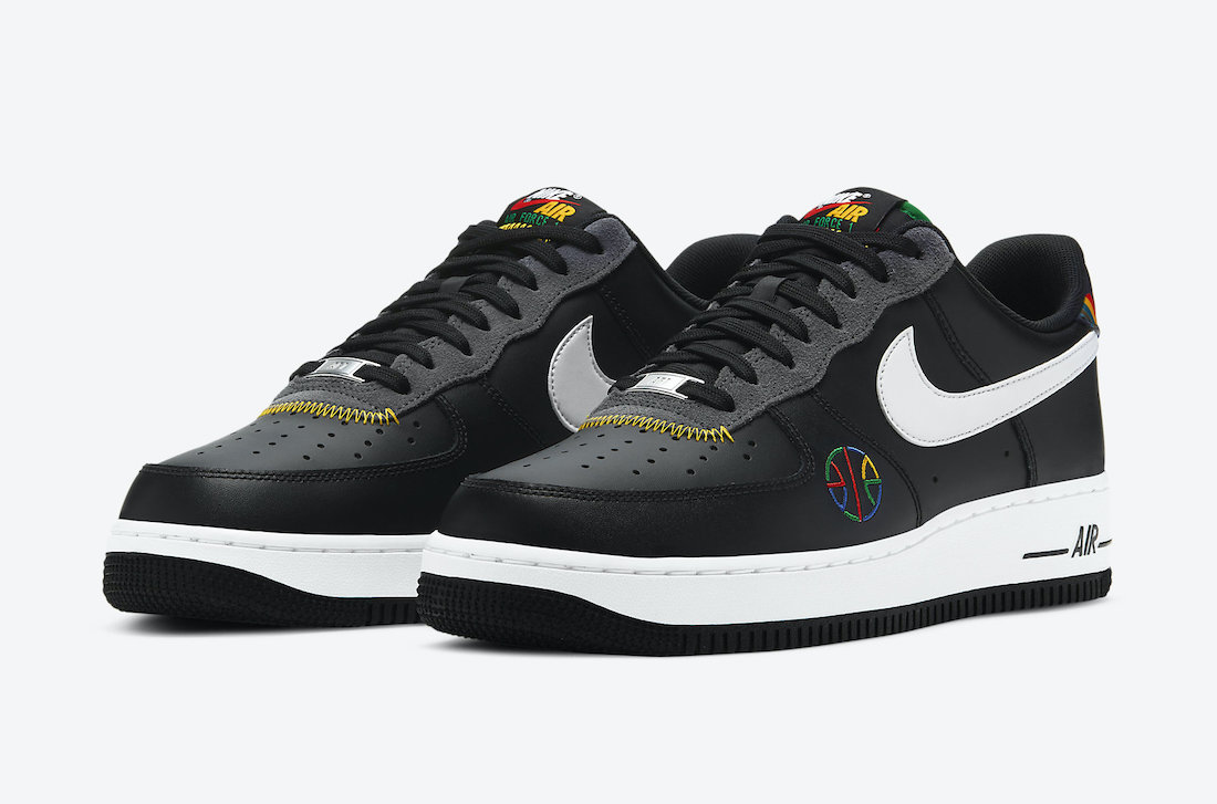 Nike Air Force 1 Live Together Play Together Urban Jungle Gym DC1483-001 Release Date