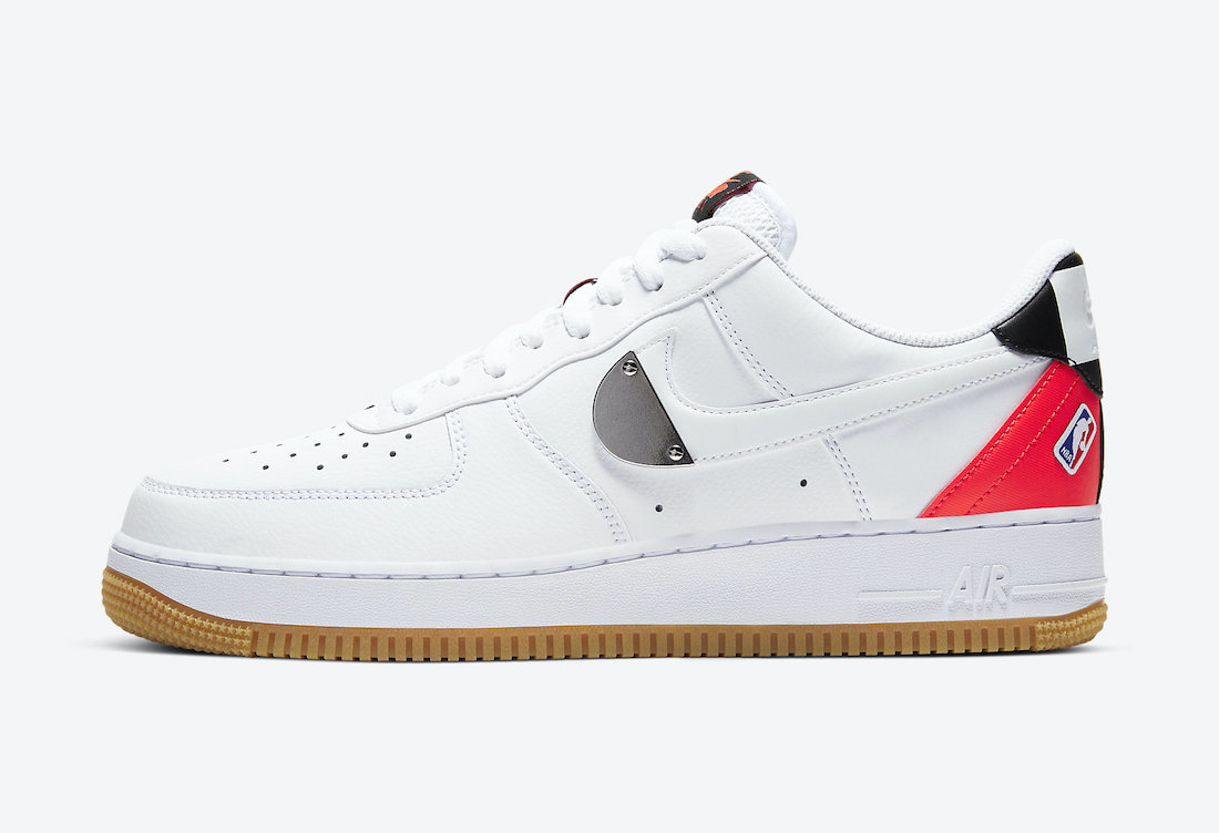 Nike Air Force 1 Low NBA Pack CT2298-101 Release Date