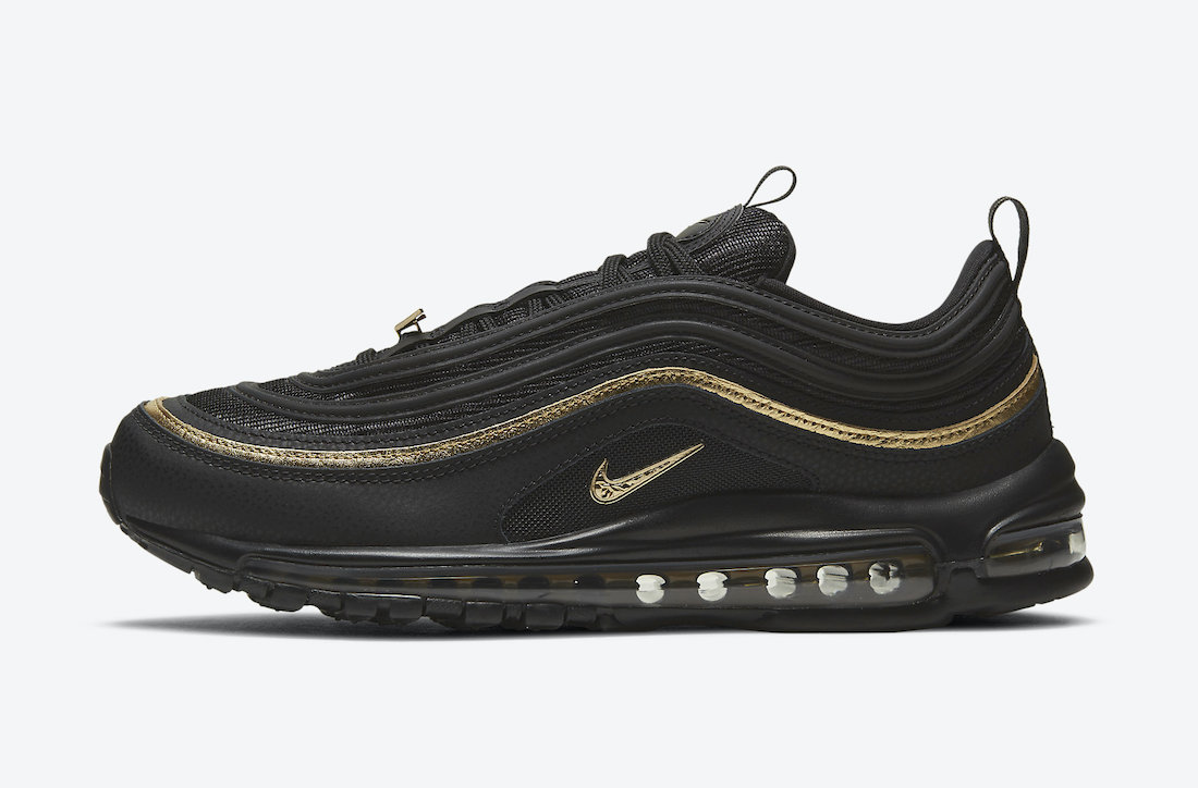 Nike Air Max 97 Black Gold DC2190-001 Release Date