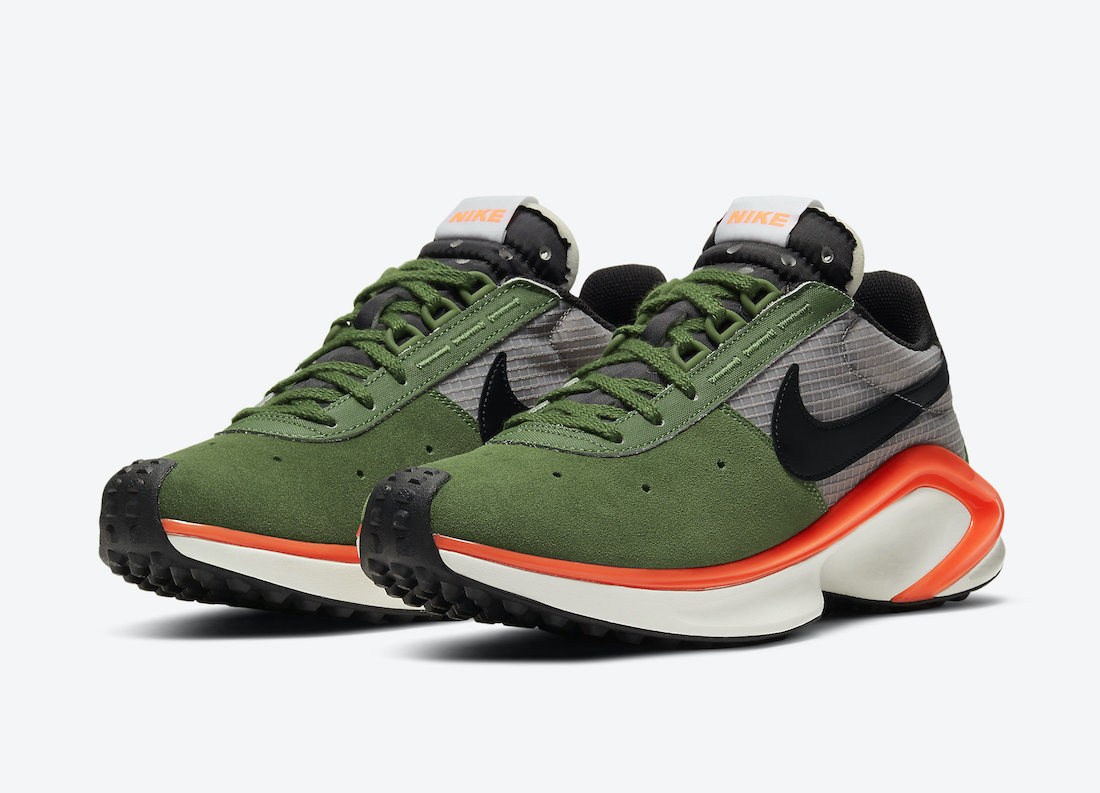 Nike DMSX Waffle Forest Green Orange CQ0205-300 Release Date