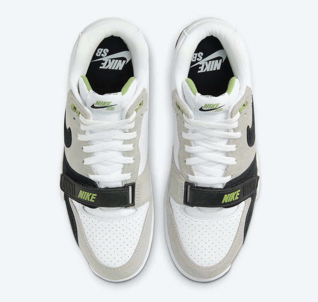 Nike SB Air Trainer 1 Chlorophyll CW8604-001 Release Date