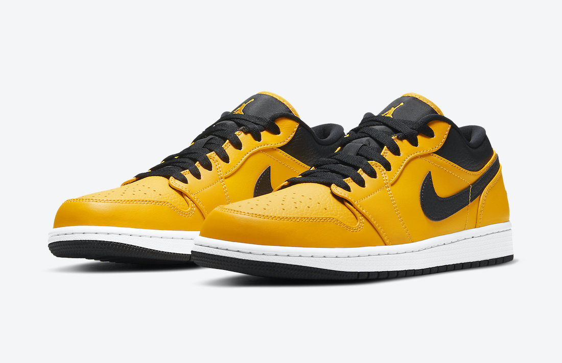Air Jordan 1 Low University Gold 553558-700 Release Date