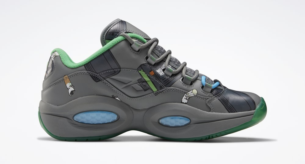 BBC Ice Cream Reebok Question Low Beepers And Butts FZ4342 Release Date
