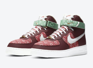 Nike Air Force 1 High Christmas DC1620-600 Release Date