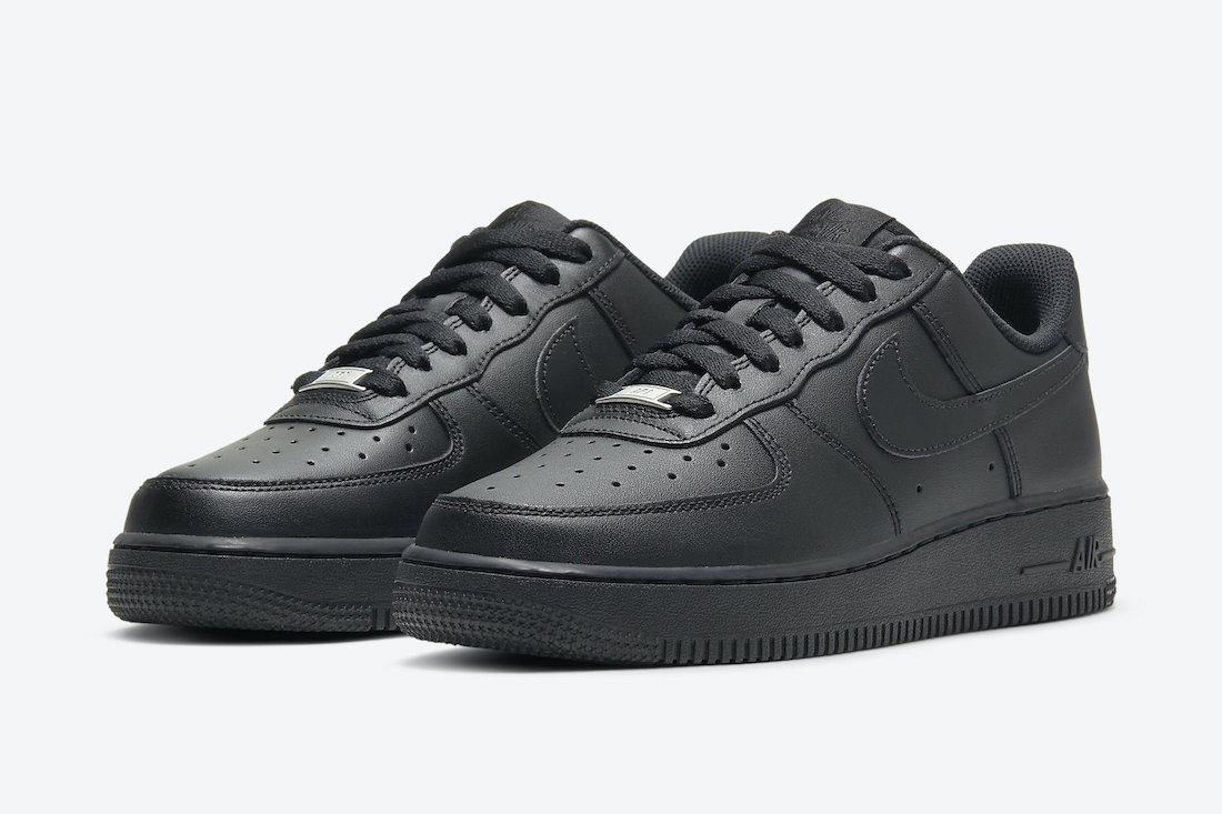 Nike Air Force 1 Low Black DD8959-001 Release Date