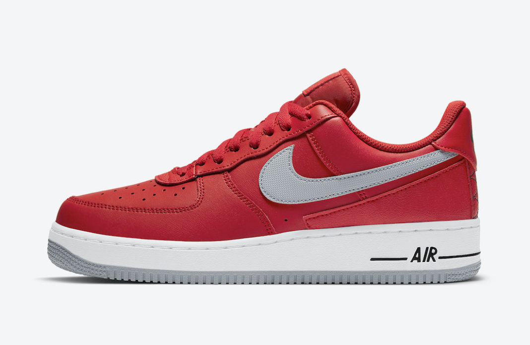 Nike Air Force 1 Low Red Grey DD7113-600 Release Date