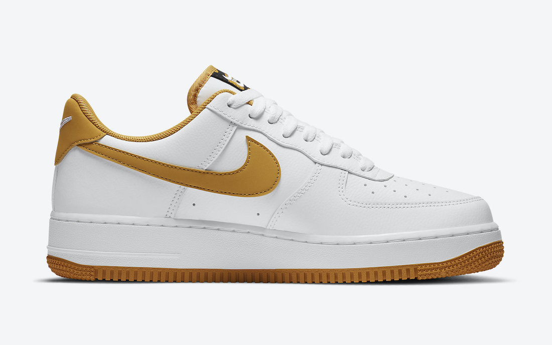 Nike Air Force 1 Low White Wheat Gum CT2300-100 Release Date