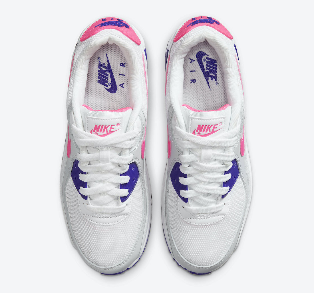 Nike Air Max 90 Concord Purple Pink Blast DC9209-100 Release Date