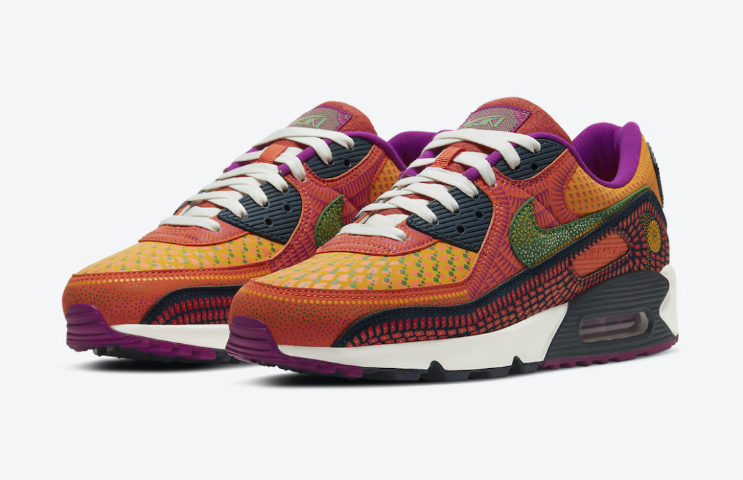 Nike Air Max 90 Day of the Dead DC5154-458 Release Date