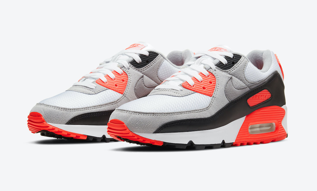 Nike Air Max 90 Infrared CT1685-100 Release Date