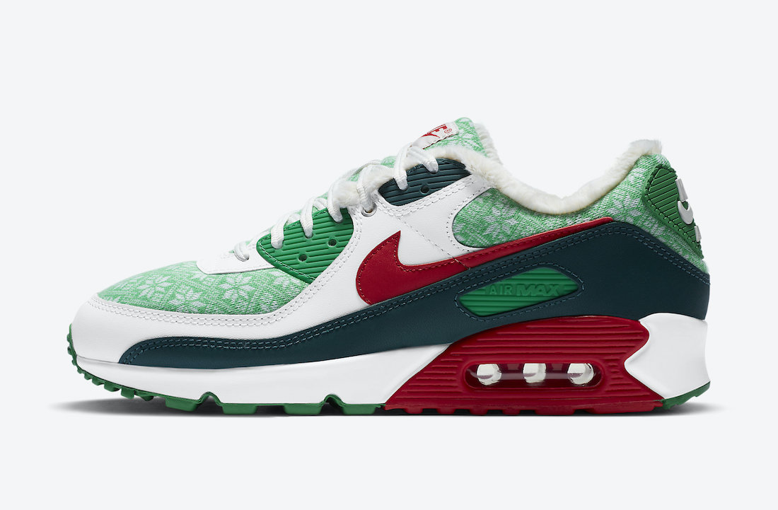 Nike Air Max 90 Nordic Christmas DC1607-100 Release Date