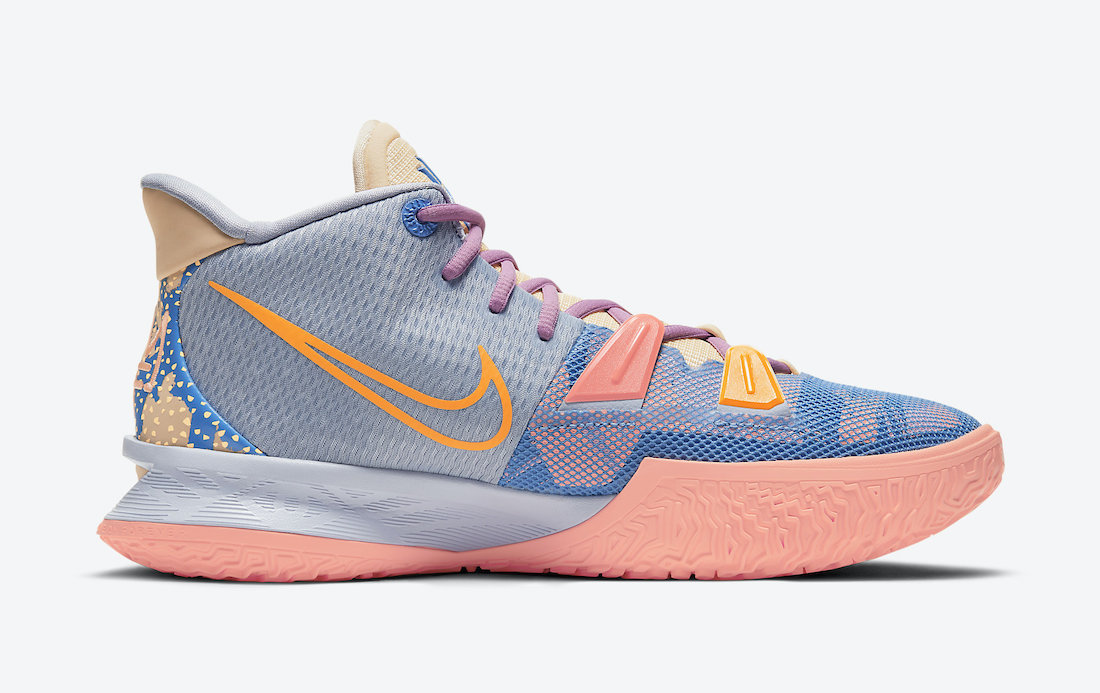 Nike Kyrie 7 Expressions DC0589-003 Release Date