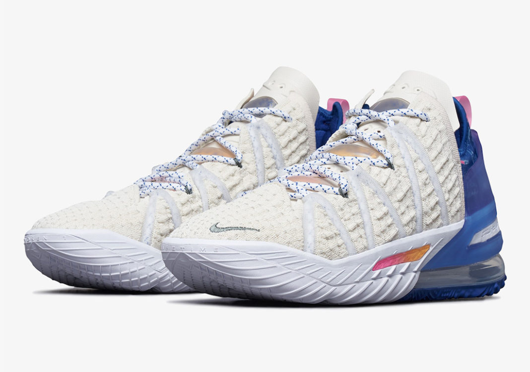 Nike LeBron 18 Los Angeles By Day DB8148-200 Release Date