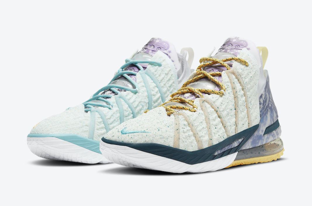 Nike LeBron 18 Reflections Flip DB8148-100 Release Date