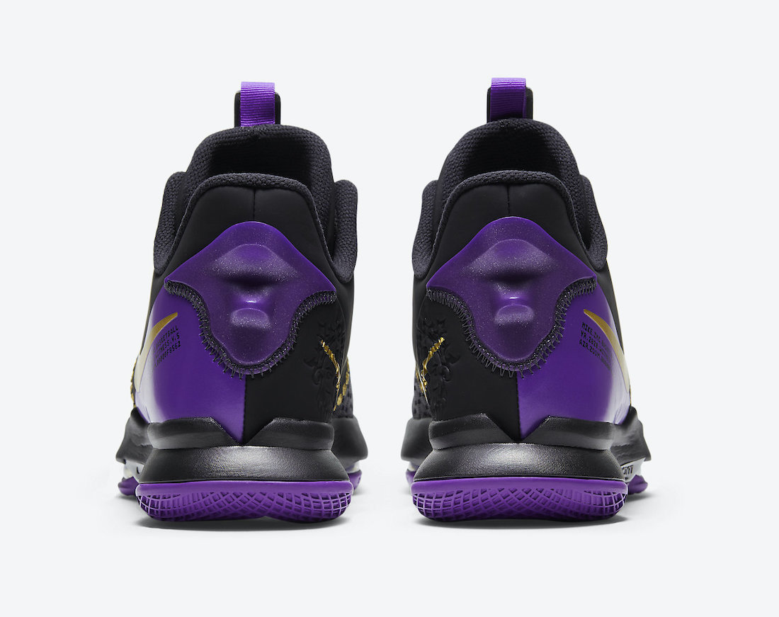 Nike LeBron Witness 5 Lakers CQ9381-001 Release Date