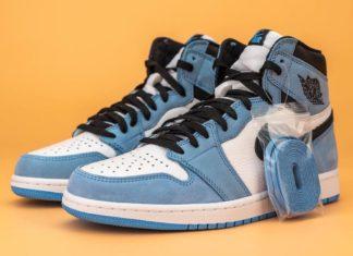 Air Jordan 1 High OG University Blue 555088-134 Release Date