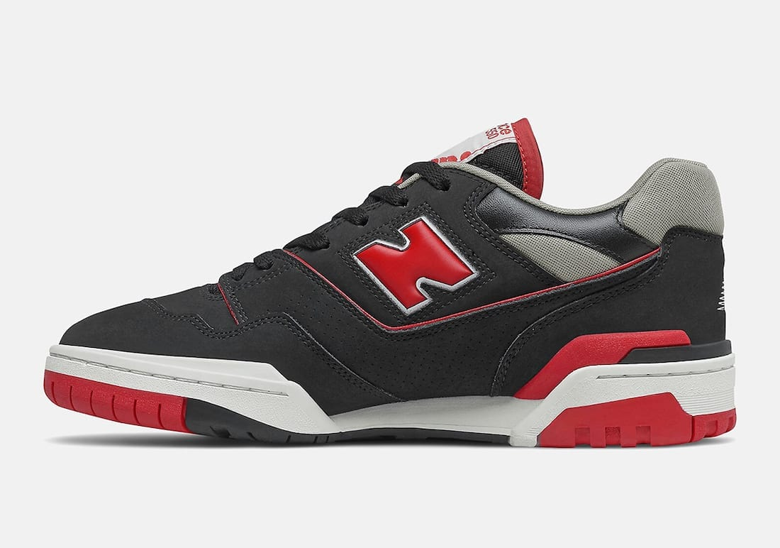 New Balance 550 Bred Black Red BB550SG1 Release Date