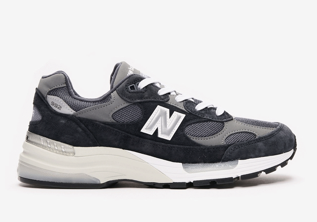 New Balance 992 Navy Grey M992GG Release Date