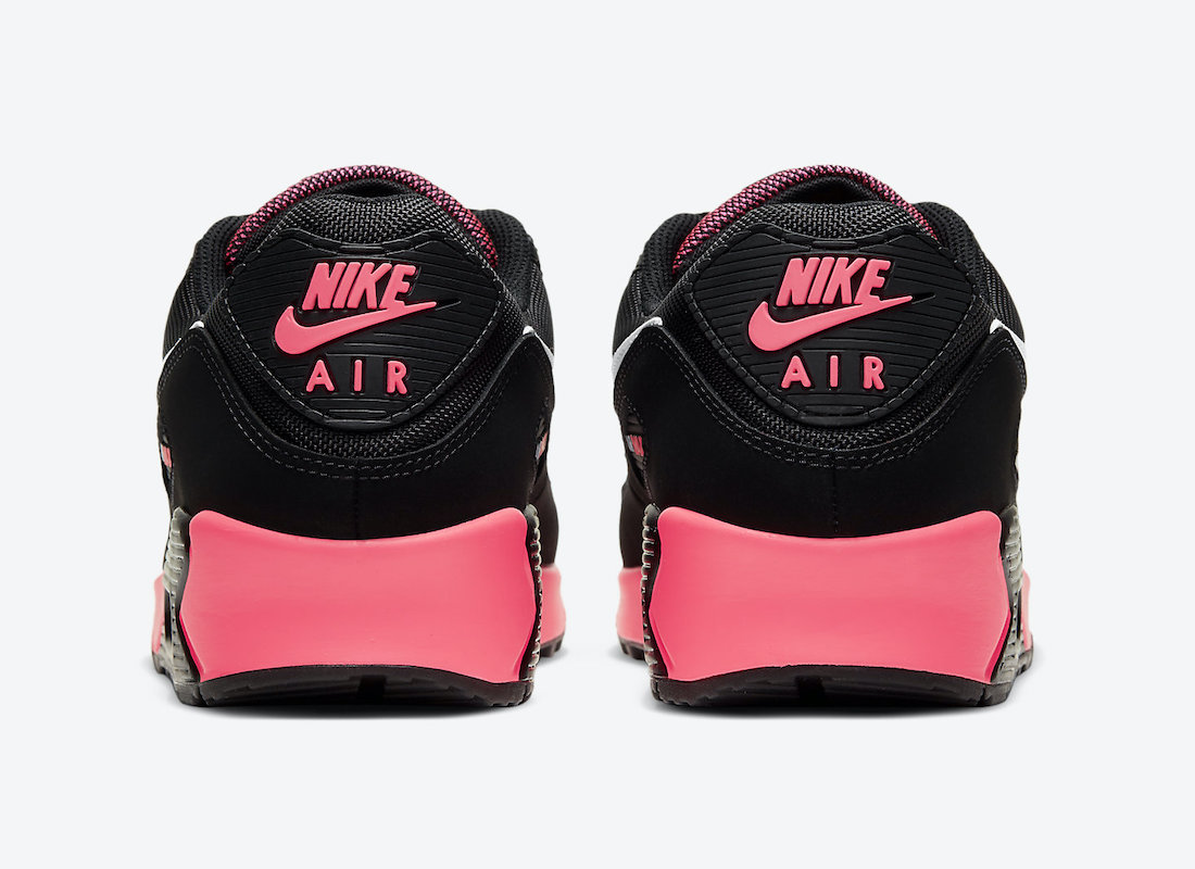 Nike Air Max 90 Black Racer Pink DB3915-003 Release Date
