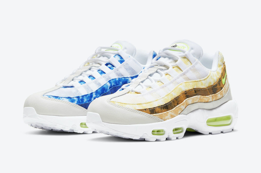 Nike Air Max 95 White Multicolor DJ4594-100 Release Date