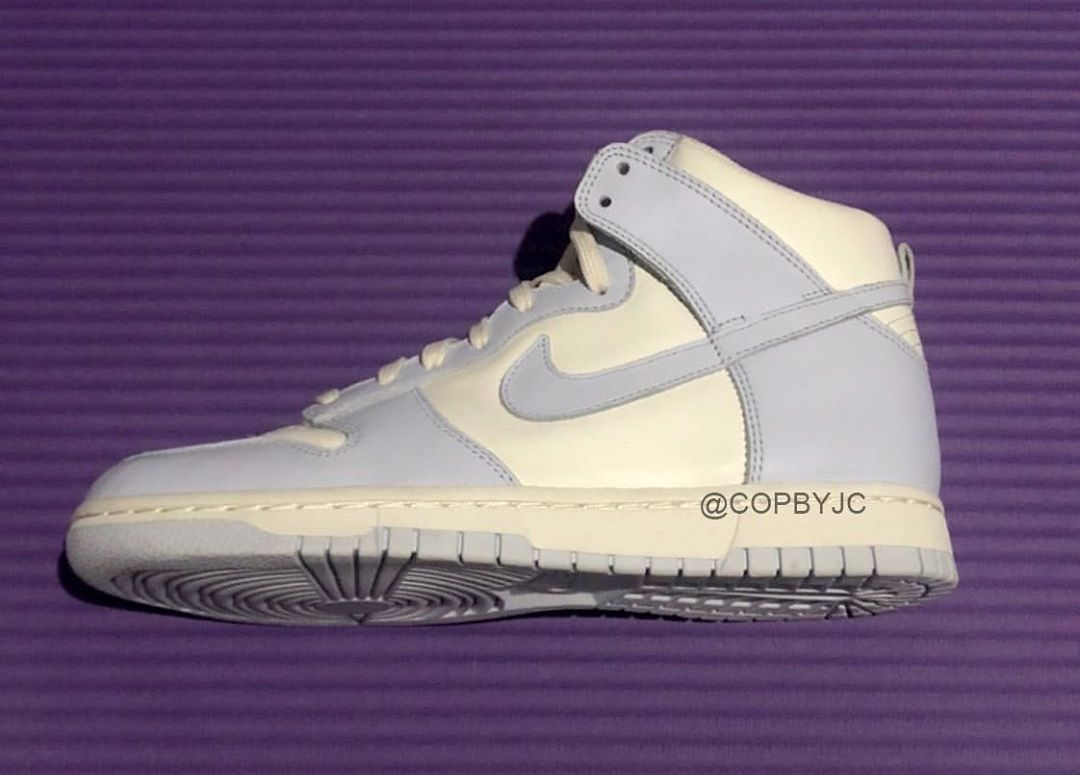 Nike Dunk High Sail Football Grey Pale Ivory DD1869-102 Release Date
