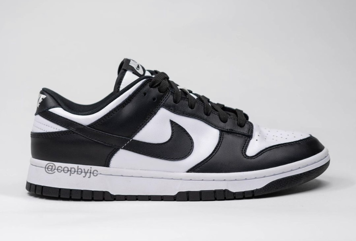 Nike Dunk Low White Black Release Date